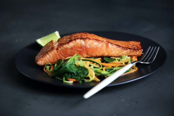 best way to reheat salmon